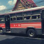 foto van een bus - reizen om jezelf te ontdekken